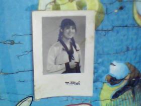 老照片;七十年代美女2