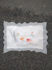 双鱼刺绣一幅