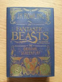 一印神奇动物在哪里剧本图书馆 线装版 Fantastic Beasts and Where to Find Them: The Original Screenplay