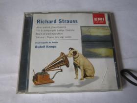 CD 光盘  唱片   EMI     Pichard    Strauss   R Strauss   斯特劳斯  查拉图斯特拉