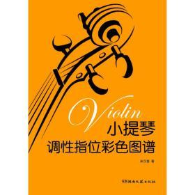 小提琴调性指位彩色图谱