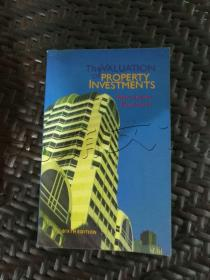 The Valuation of Property Investments---[ID:300526][%#345I2%#]