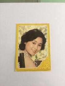 张瑜 《知音》  美女电影明星   卡片 歌片