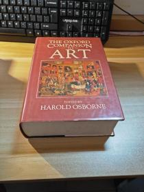 原版精装插图本《THE OXFORD COMPANION ART》牛津大学文学指南