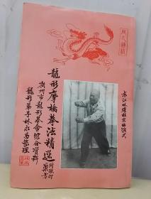 龙形摹桥拳法精选(附跌打药方)广州龙形拳会馆合资料
