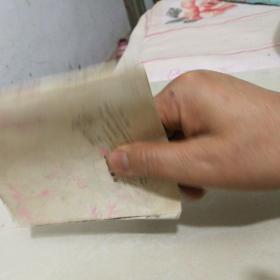 彩色 《白鸽的秘密》.方楚雄先生等绘制 少有 (内页有一张破损被剪去小部分〉