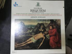 黑胶原版唱片2张装DVORAK REQUIEM