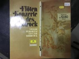 黑胶原版唱片FLOTEN KONZERTE DES BAROCK