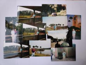 2002年旅游美国拍摄的照片10张(15乘10厘米)