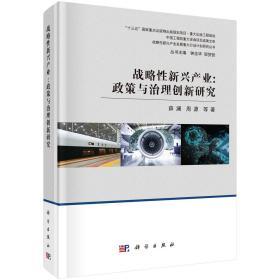战略性新兴产业:政策与治理创新研究