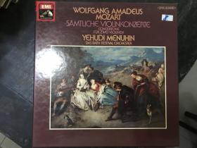 黑胶原版唱片5张装WOLFGANG AMADEUS MOZART