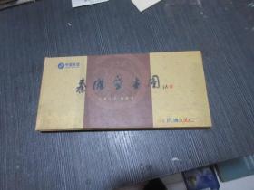 """2001年【秦淮盛世图,电话卡(样卡)18张】设计者""""戴学彦""""签名"""