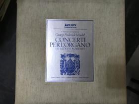 黑胶原版唱片5张装CONCERTI PERLORGANO