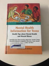 Mental Health Information for Teens(First Edition)馆藏