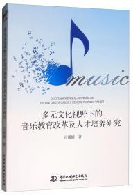 多元文化视野下的音乐教育改革及人才培养研究