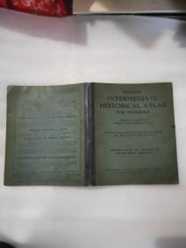 PHILPS INTERMEDIATE HISTORICAL ATLAS FOR SCHOOLS 地图集 1935年版软精装