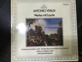 黑胶原版唱片ANTONIO VIVALDI WERKE MIT LAUTE