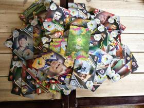 足球明星卡片260张合售