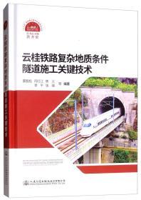 云桂铁路复杂地质条件隧道施工关键技术