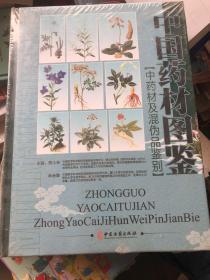 中国药材图鉴:中药材及混伪品鉴别( 第四卷 )