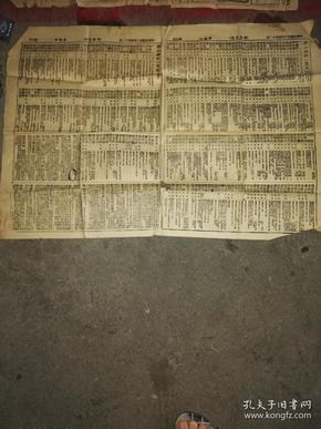 民国广州报纸《司法日刊》广州律师一览表