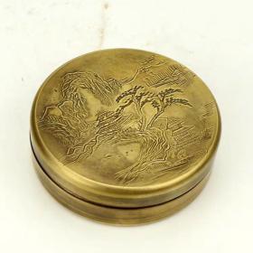 纯铜圆形墨盒
