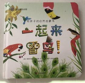 漂流瓶绘本馆 一起来看鸟 给孩子的自然启蒙书 0-3-6周岁儿童故事图画书幼儿园小中大班宝宝书籍幼儿成长大自然科普启蒙绘本图画书