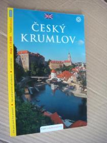 ČESKÝ KRUMLOV  <捷克最美的小镇- 克鲁姆洛夫> 捷克语原版  全铜版纸 图文本