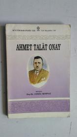 外文原版(土耳其语)AHMET TALÂT ONAY