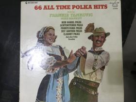 黑胶原版唱片4张装66 ALL TIME POLKA HITS
