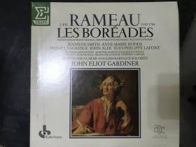 黑胶原版唱片3张装RAMEAU LES BOREADES