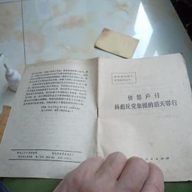 1975年愤怒声讨林彪反党集团的滔天罪行一有毛主席语录