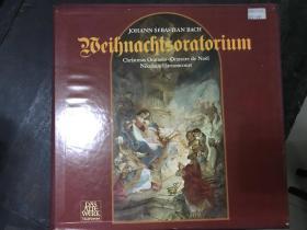 黑胶原版唱片2张装BEIHNACHTSORATORIUM J.S.BACH
