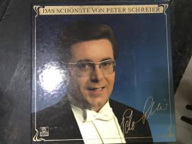 黑胶原版唱片2张装DAS SCHONSTE VON PETER SCHREIER