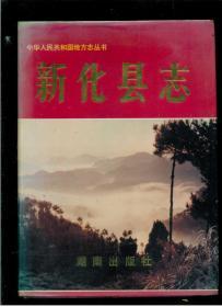 新化县志(16开精装本)