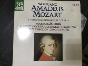 黑胶原版唱片3张装WOLFGANG AMADEUS MOZART