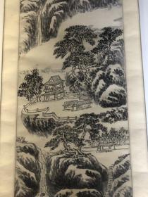已故著名画家许南湖精品山水1