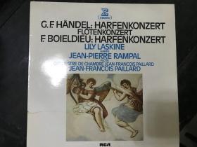 黑胶原版唱片G.F.HANDEL:HARFENKONZERT FLOTENKONZERT