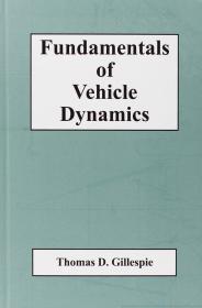 Fundamentals of Vehicle Dynamics 英文原版 车辆动力学基础