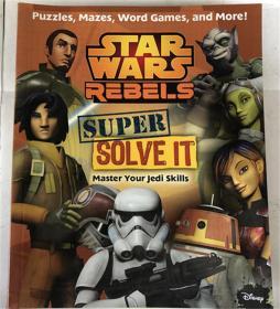 Star Wars Rebels: Super Solve It: Master Your Jedi Skills  星球大战反叛者:超级解决它:掌握你的绝地技能