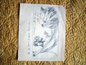 素描,自己看图,1987年