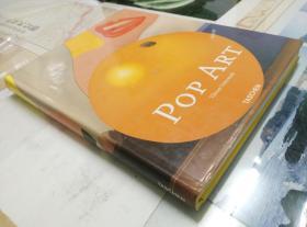 「原版英文书」12开·精装彩页铜版纸·《POP ART·波普艺术》·九五品