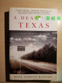 A Death in Texas - A Story of Race, Murder, and a Small Towns Struggle for Redemption