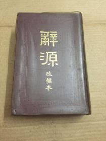 辞源改编本