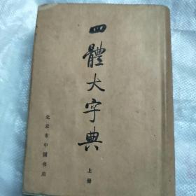 四体大字典(上册)