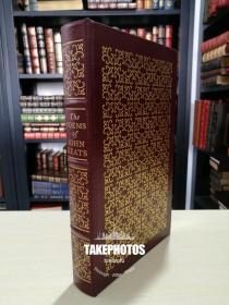 The Poems of John Keats 《约翰济慈诗集》 easton press 1980年 真皮精装收藏版 100 伟大名著系列丛书之一