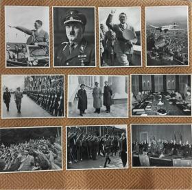 纳粹德国原版老照片图片4套共135张合拍