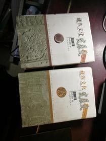 藏族文化发展史(上下册) (上册后书衣有一点点破损)