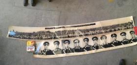 老照片:毛主席、刘主席等党和国家领导人检阅北京济南部队军事训练时和受阅官兵合影1964年6月 264 × 31 cm(已售),共和国十大元帅210× 31 cm,毛泽东毛主席老照片一套63张(缺一张50或53,有一张悼念朱德的没编码),还有剩余几张重复的,