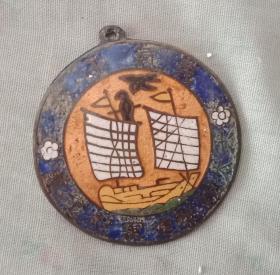 民国山西省证章----《烤蓝章》----虒人荣誉珍藏